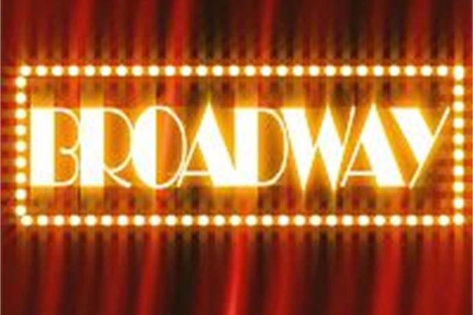 Broadway show lights