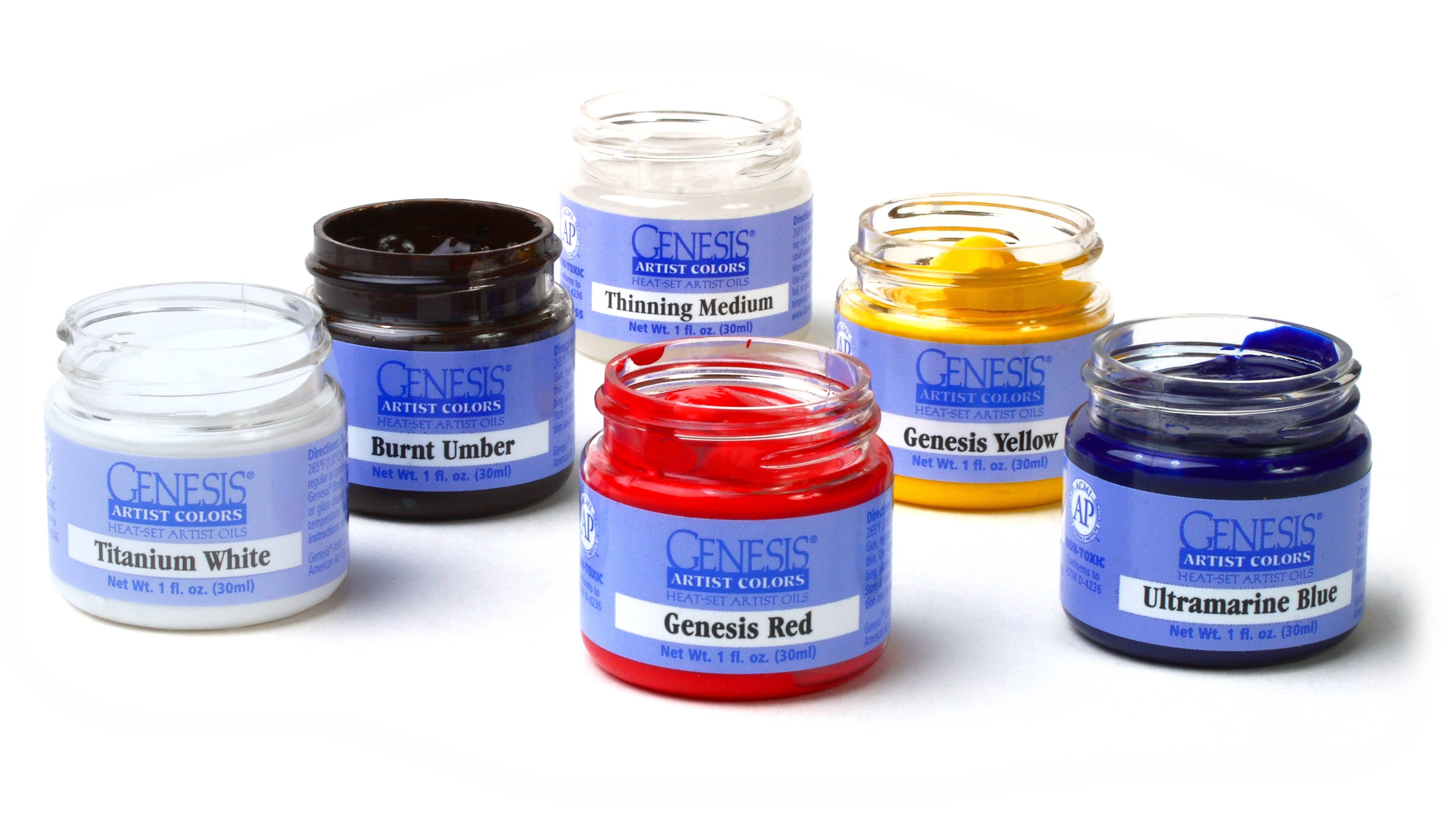 Heat Activated Paint Genesisoilpaints