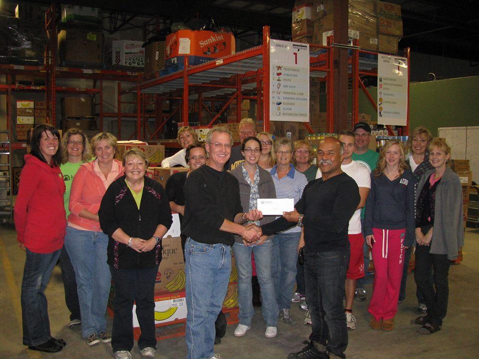 Salvation Army Peterborough Food Bank