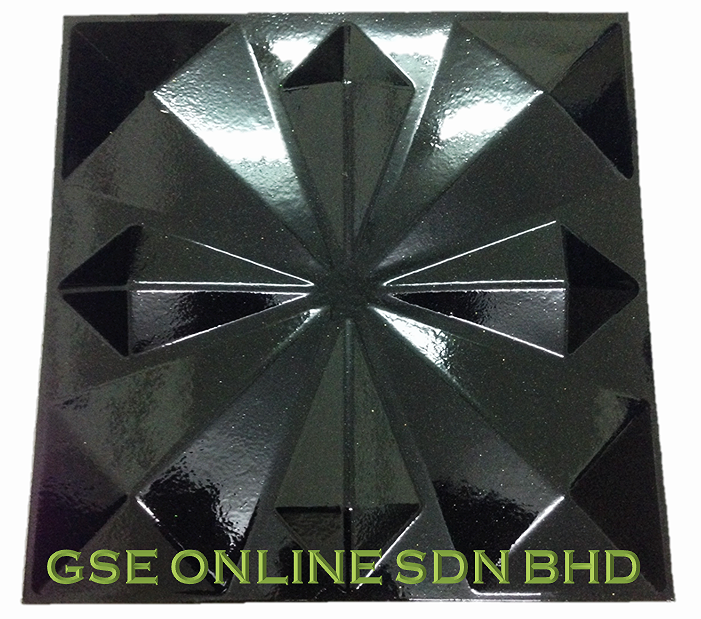 painted 3D Wall panel Malaysia