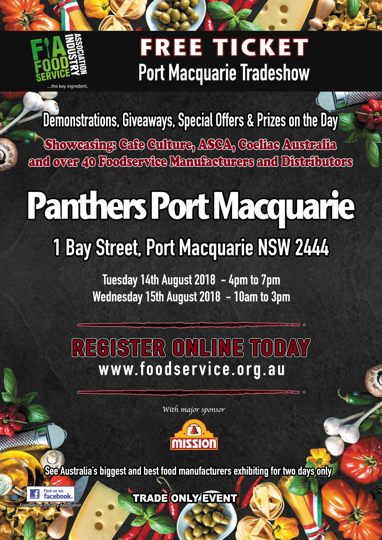 Port Macquarie Tradeshow | Exhibitors Application | Panthers | 1 Bay