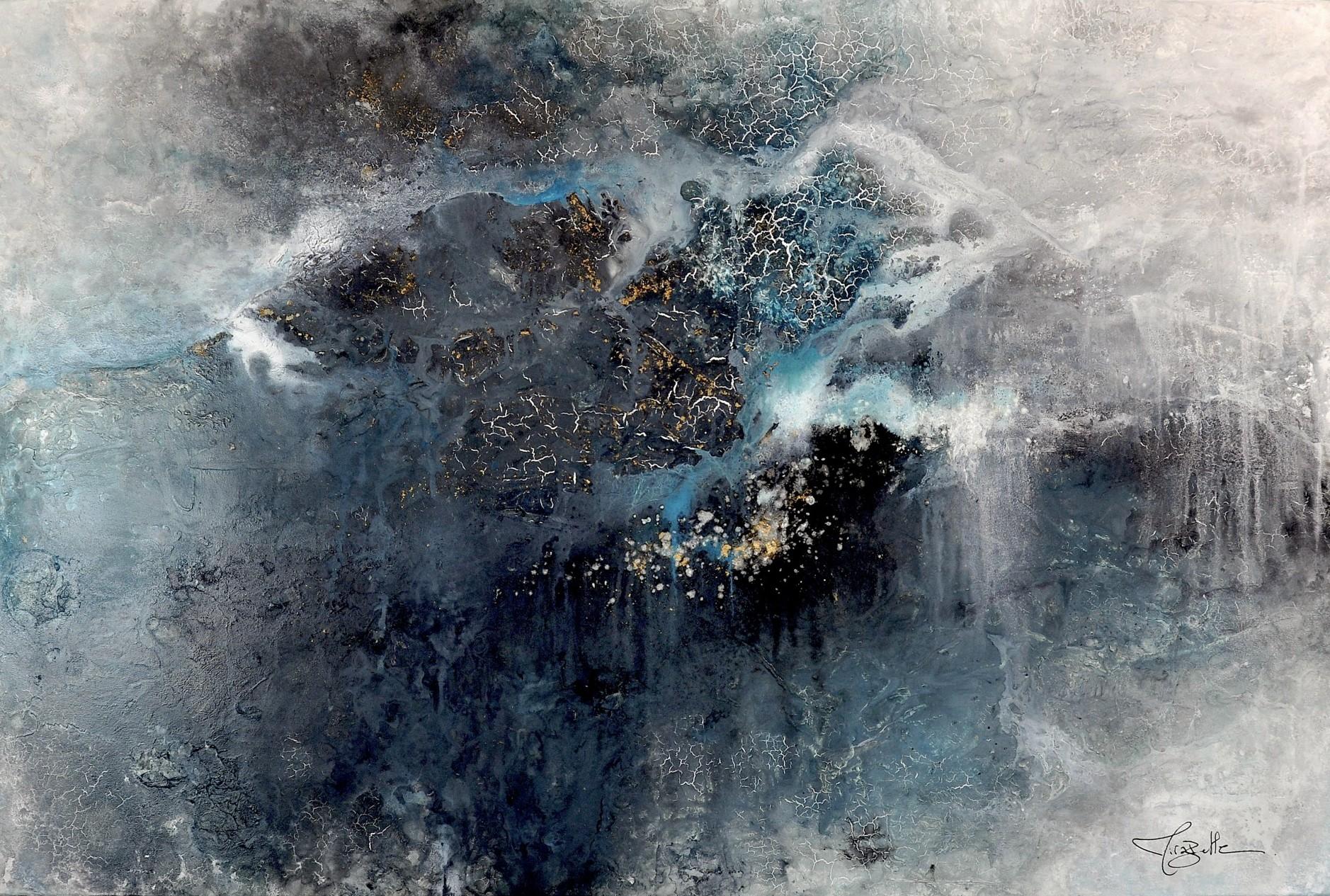 Portfolio peinture s rie matrice voyages int rieurs for Abstraction lyrique