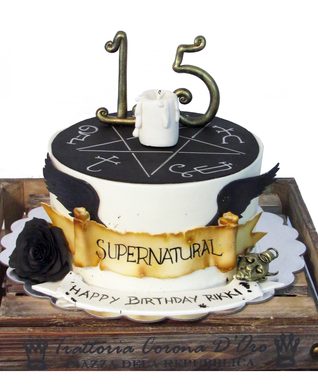 Supernatural Cake Ideas