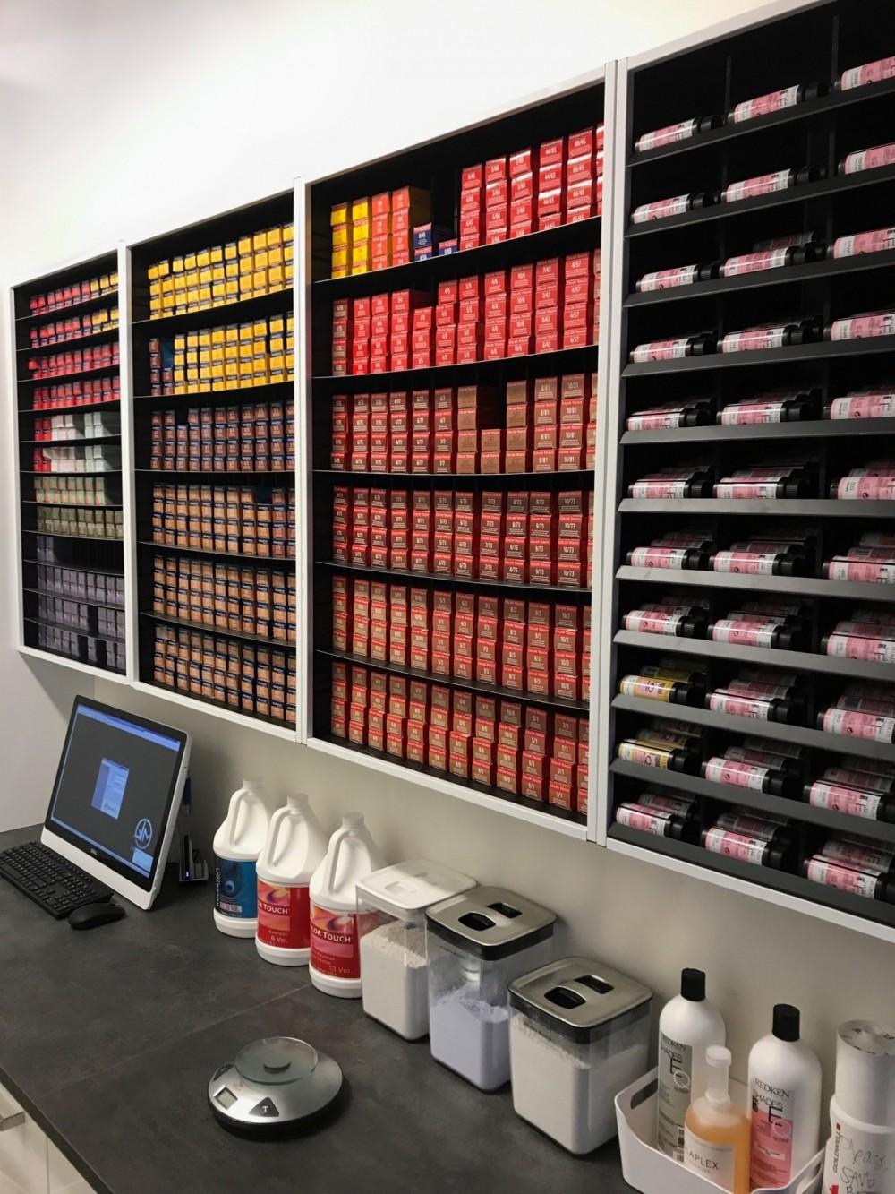 1 Hair-Salon Color Storage, #1 Hair-Salon Color Rack, #1 Hair ...