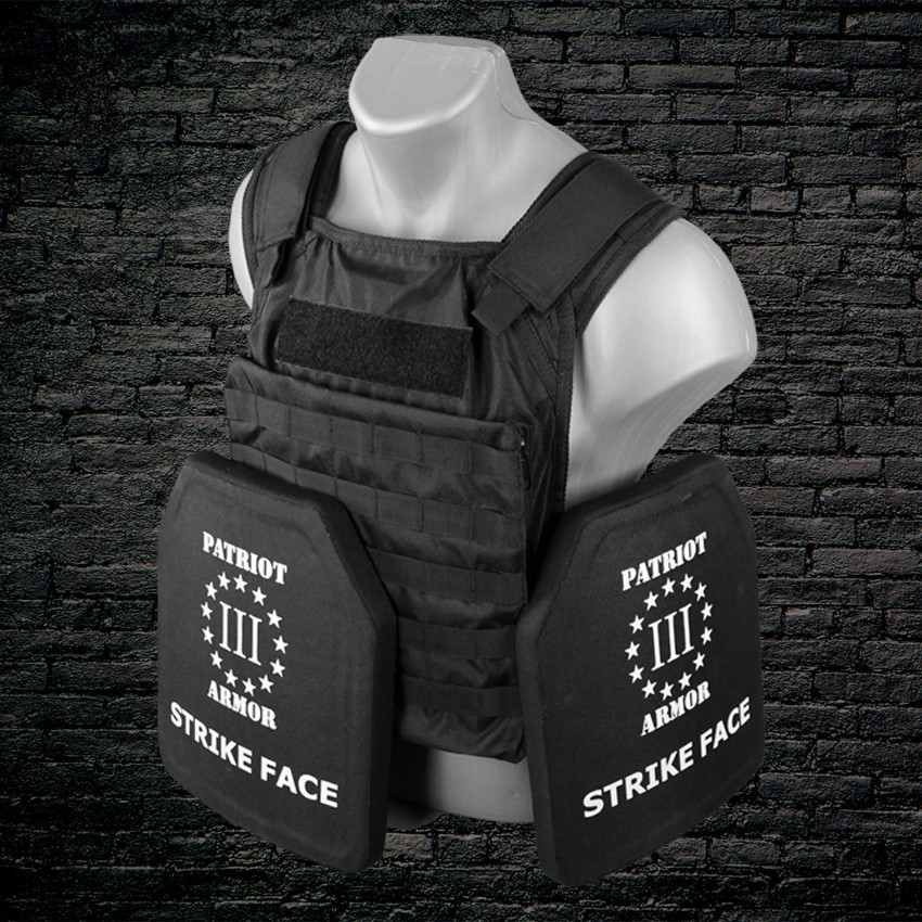 NIJ Level IV Plates (Front and Rear) & Body Armor Packages
