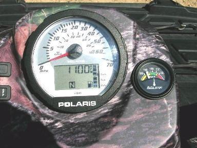 Polaris ATV Temp Gauge Kit Coolant Switch Illuminated System
