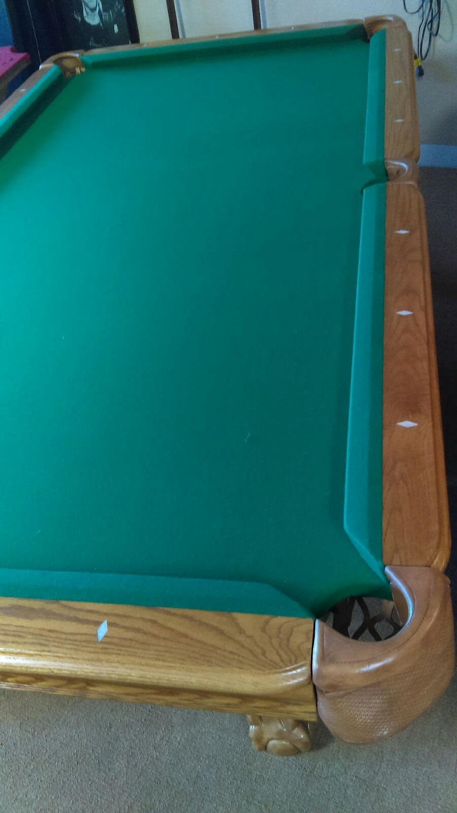 New and used pool tables great prices 7ft 8ft 9ft for 1 piece slate pool table