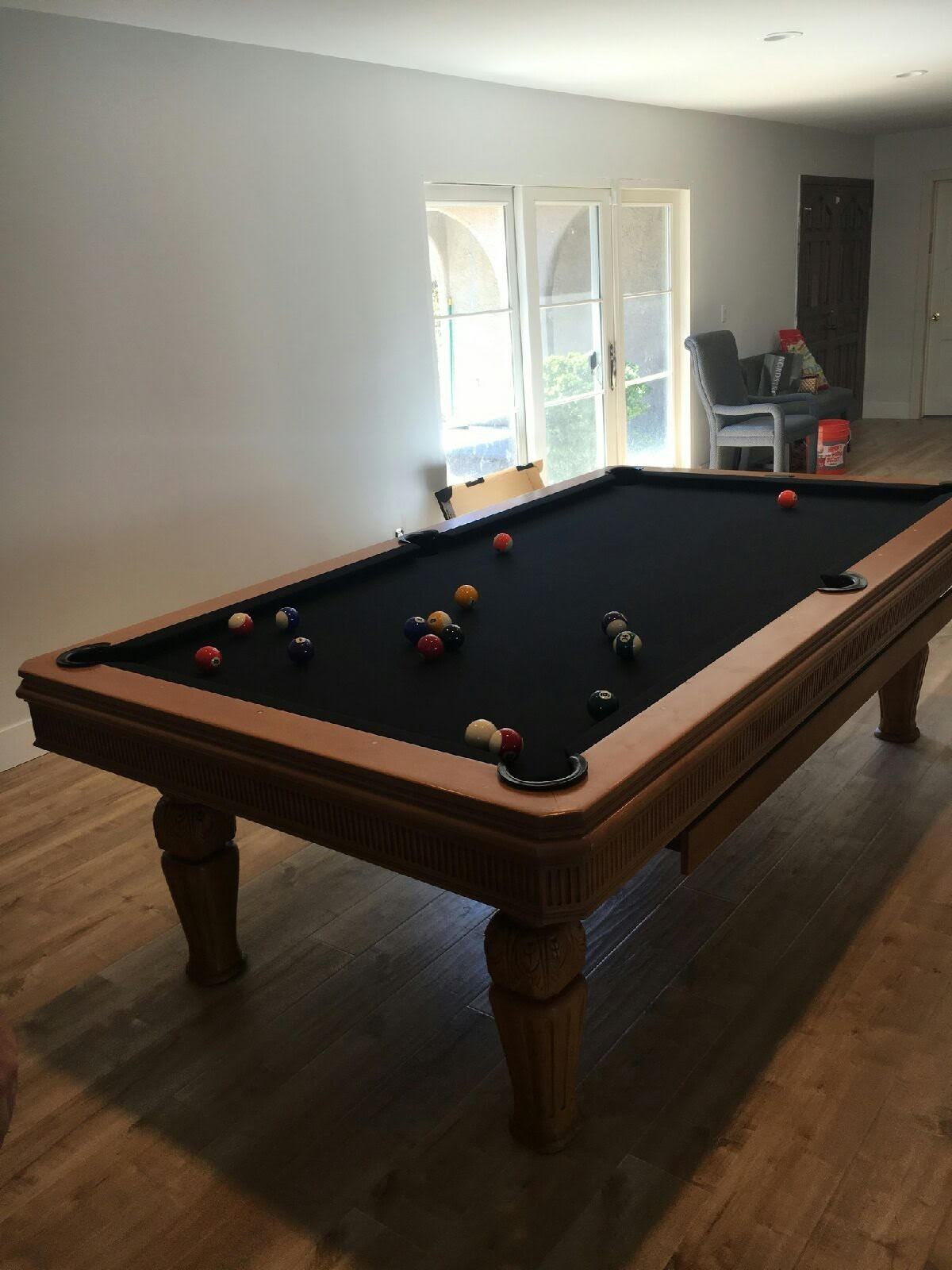 Pool Table FELT INSTALLATION Billiard Table RECOVERING - Pool table resurfacing