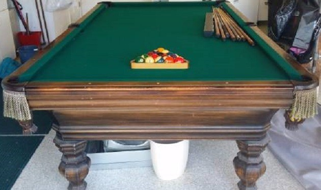 Pool Table FELT INSTALLATION Billiard Table RECOVERING - Pool table refelting near me