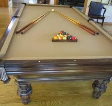 Astonishing Pool Table Felt Installation Billiard Table Recovering Download Free Architecture Designs Xerocsunscenecom