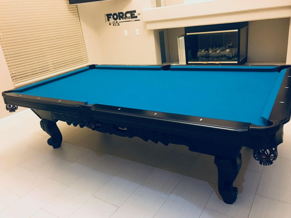 When You Buy A Used Pool Table , You Can Still Purchase A Table That Looks  Similar To New. Any Pre Owned Pool Tables We Sell Come With Any New Felt  Color Of ...