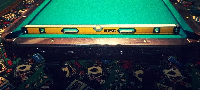 Pool Table Leveling Billiard Tables - Buy my pool table