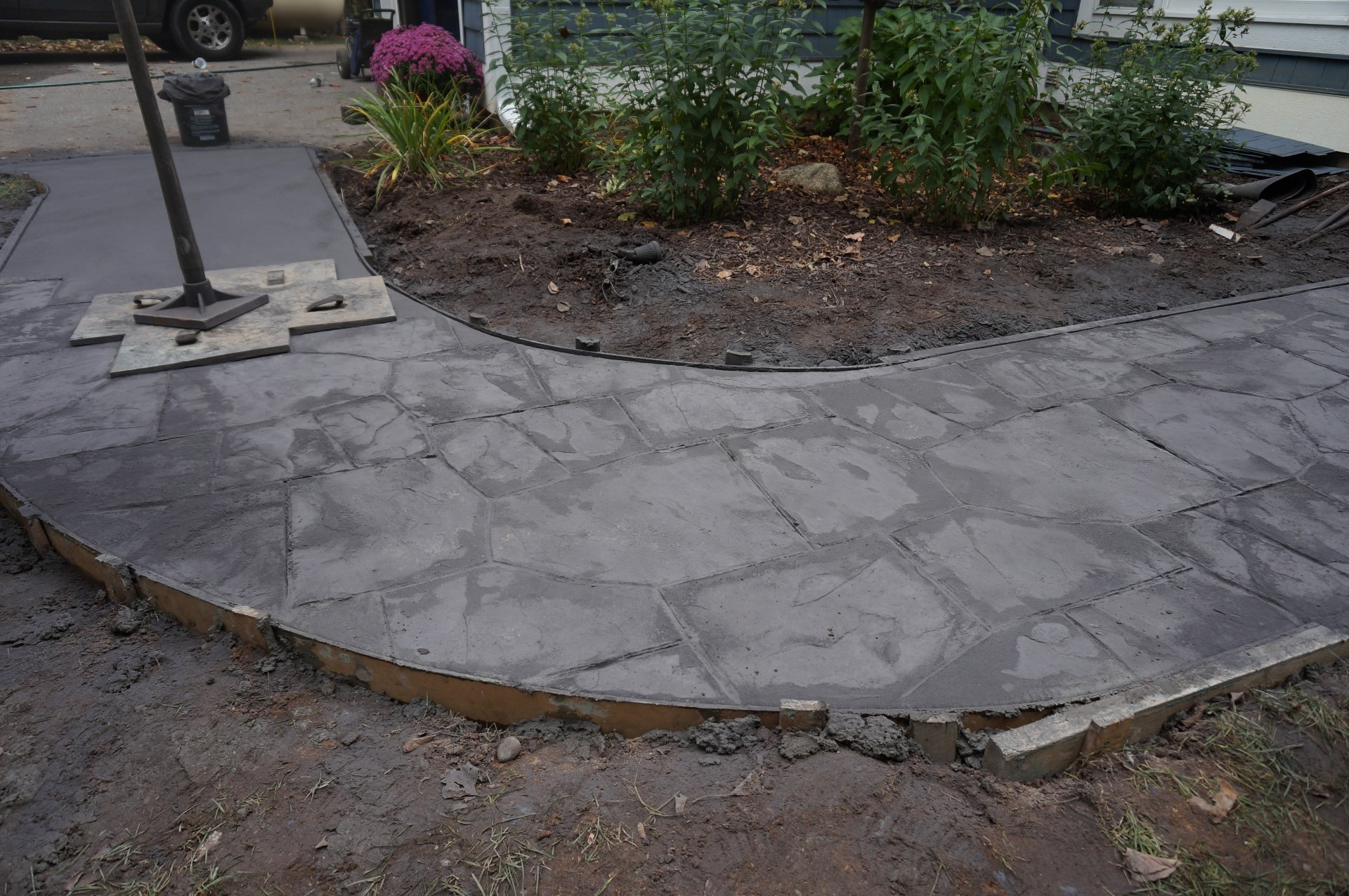 Flagstone Stamped Concrete : Flagstone stamped concrete pictures