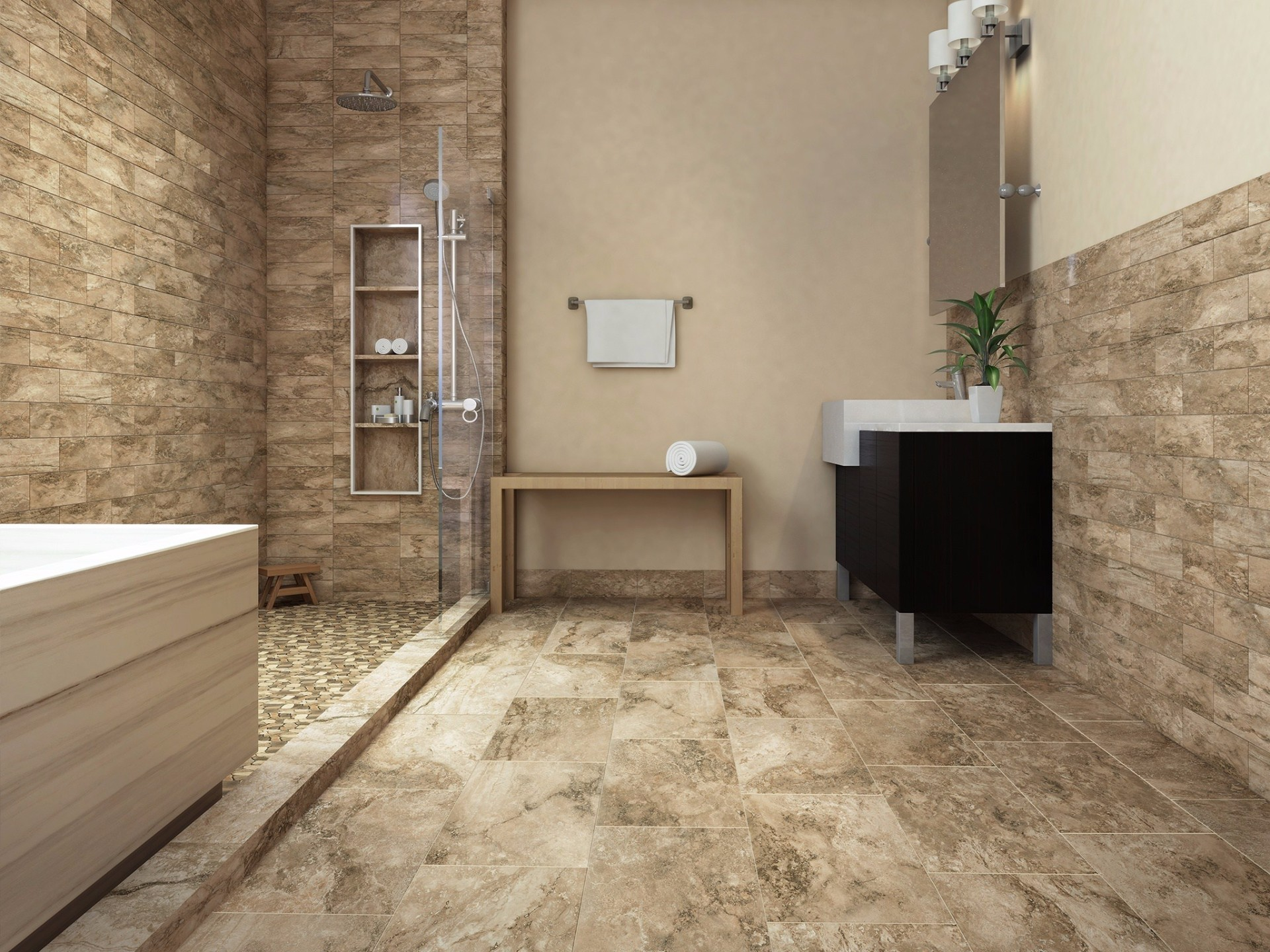 Tile Flooring and Walls : Stonework | Contractors Supply | Petoskey