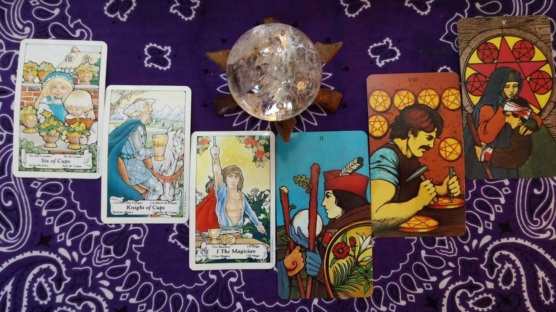 cancer weekly 6 to 12 tarot card