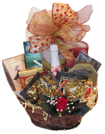 love couples gift basket