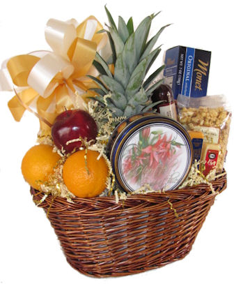 fruit gift basket for employees