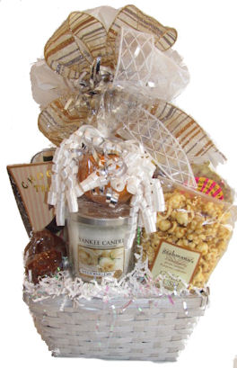 Bride and Groom gift basket