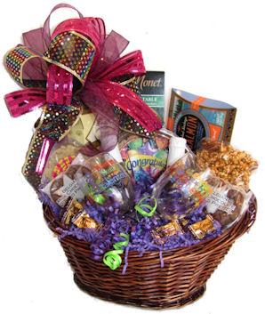 Romance Love anniversary gift basket