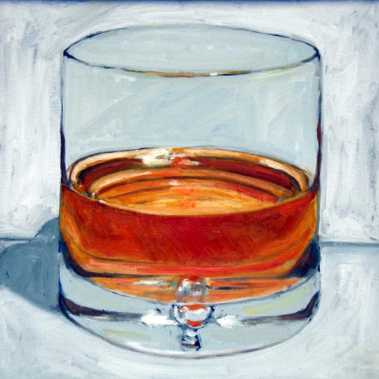 Whiskey 24x24