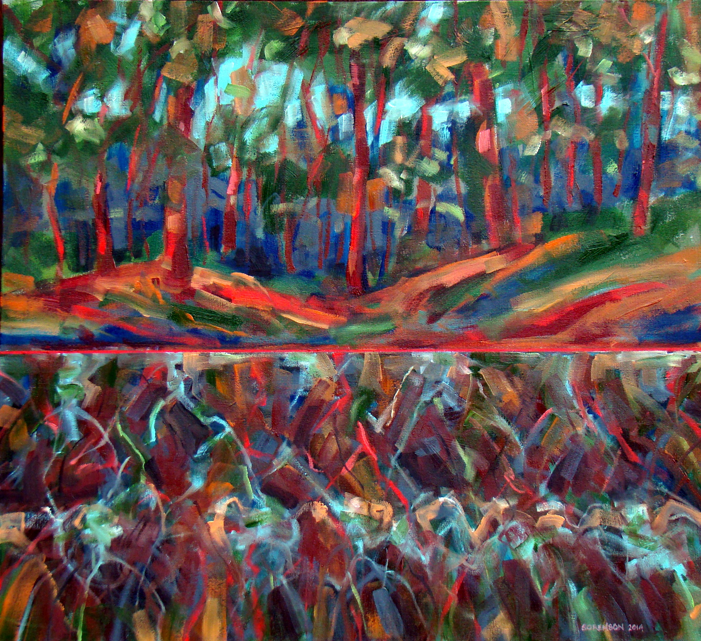 Forest 26.5x29