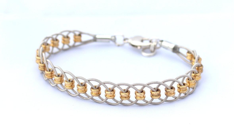 guitar string bracelets guitar string jewelry. Black Bedroom Furniture Sets. Home Design Ideas