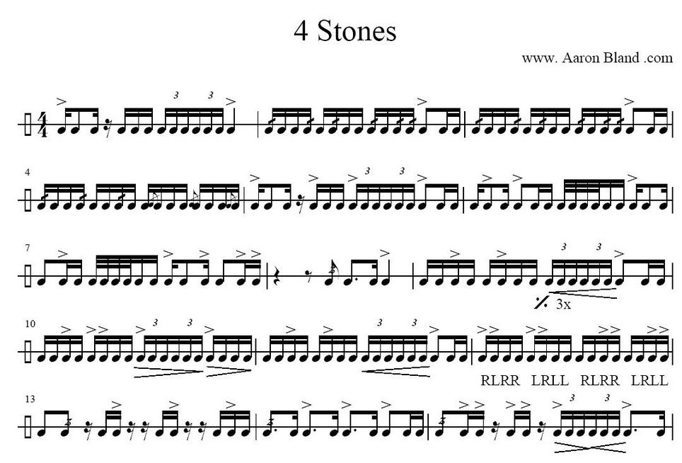 Single Surface Snare Solos