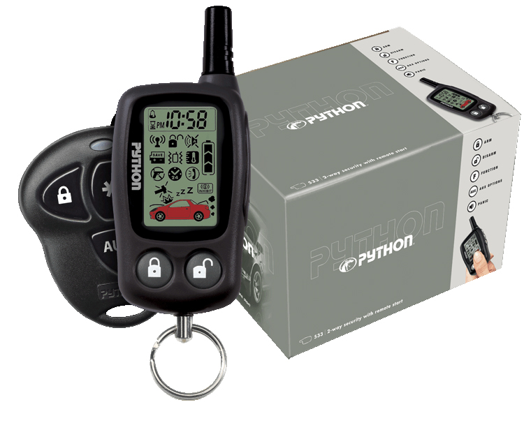 python 5303p security remote start