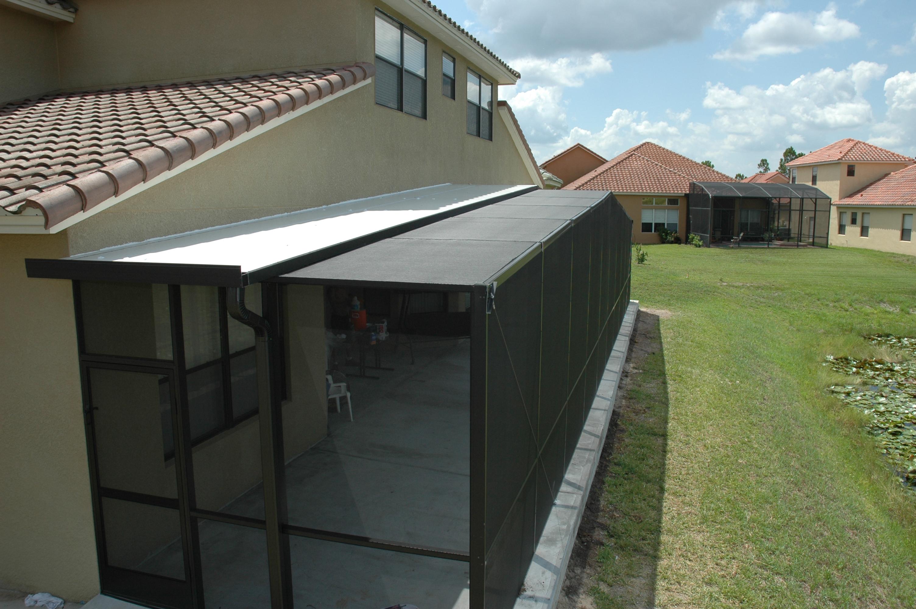 full gable screen enclosure