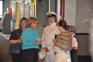 Captain & guests