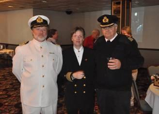 Capt Brian, VC King & Capt Dave