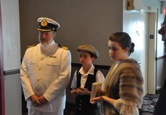 Capt Brian & son David & daughter