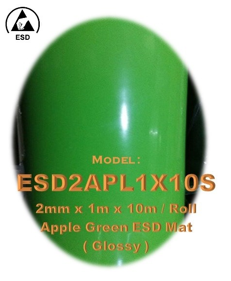 Apple Green ESD Mat