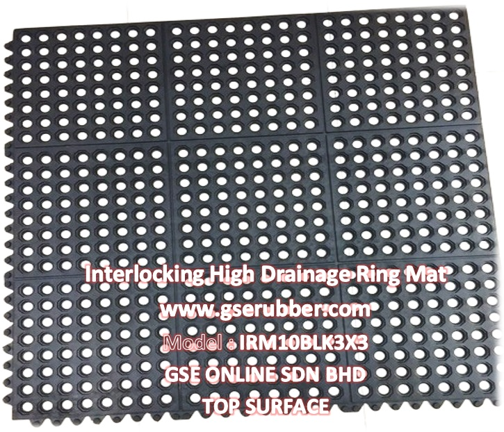 Interlocking Ring Rubber Mat Malaysia