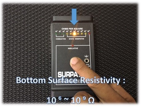 bottom surface resistivity rubber mat Malaysia
