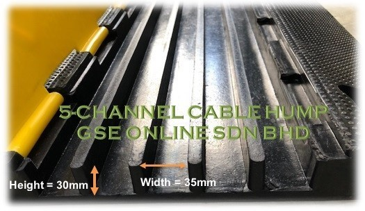 5channel cable hump Malaysia