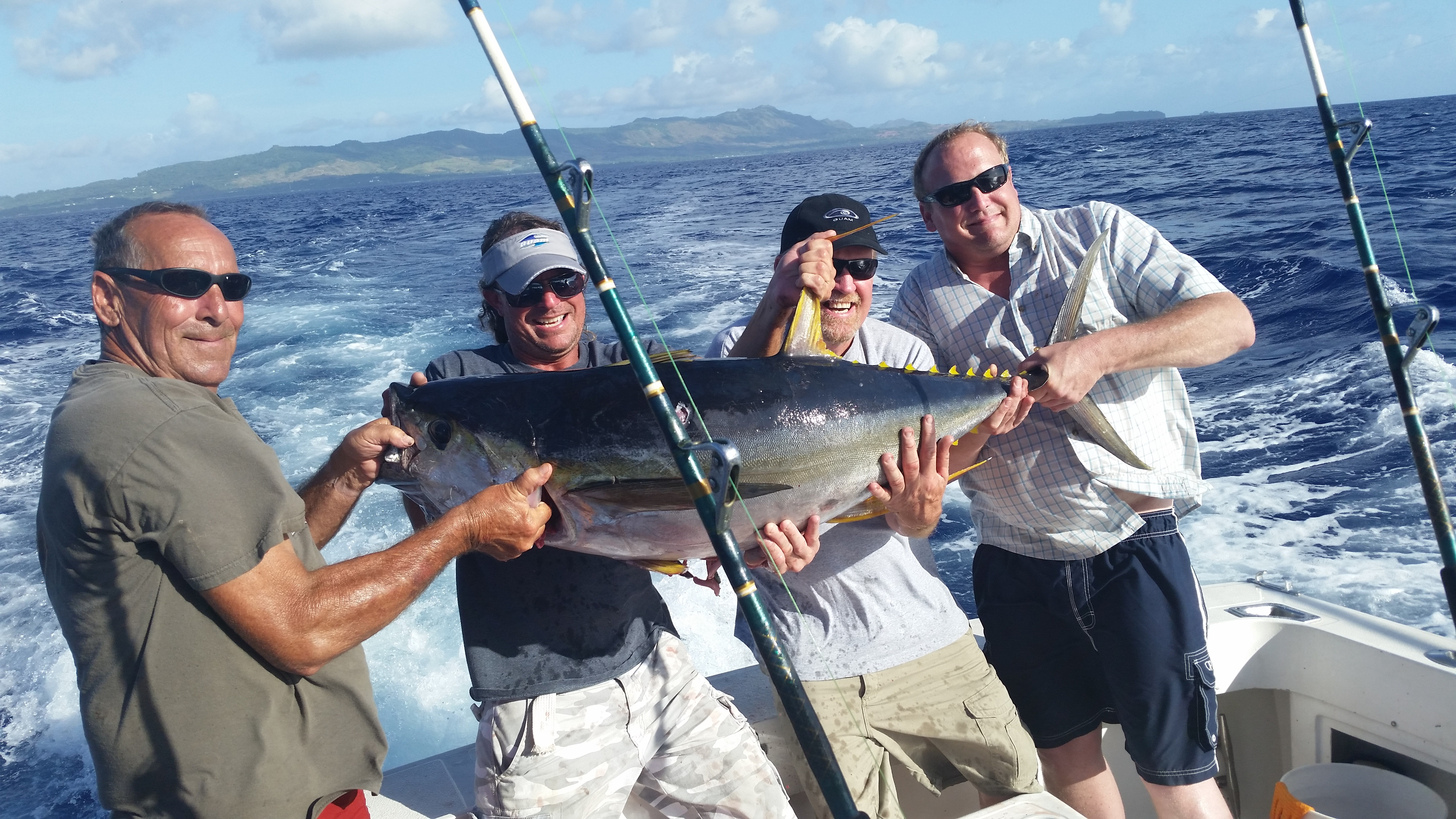 Aquaman fishing charters guam try out the best deep sea for Best deep sea fishing