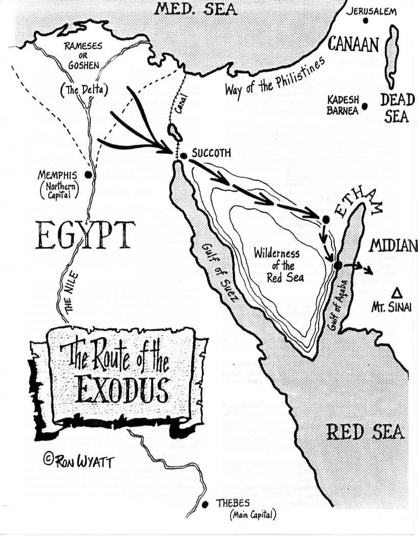crossing the red sea poem essay