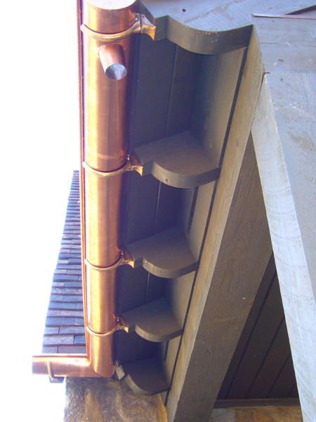 cape cod copper gutters