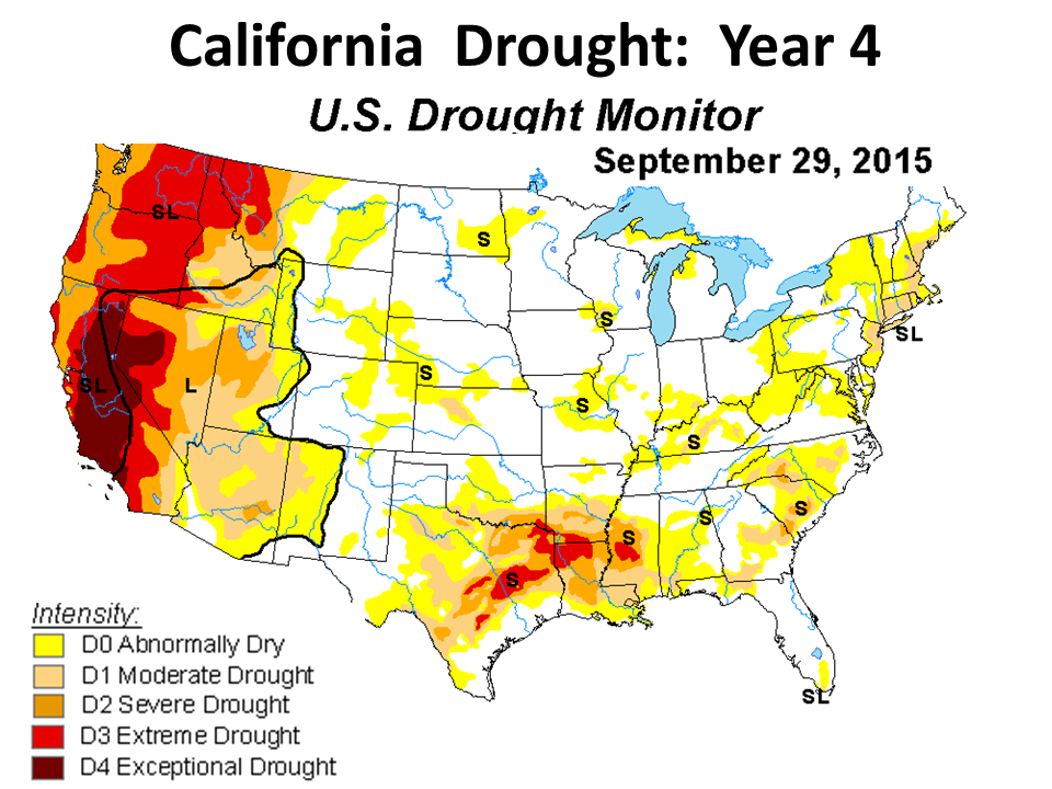Drought - Us dought map 2002