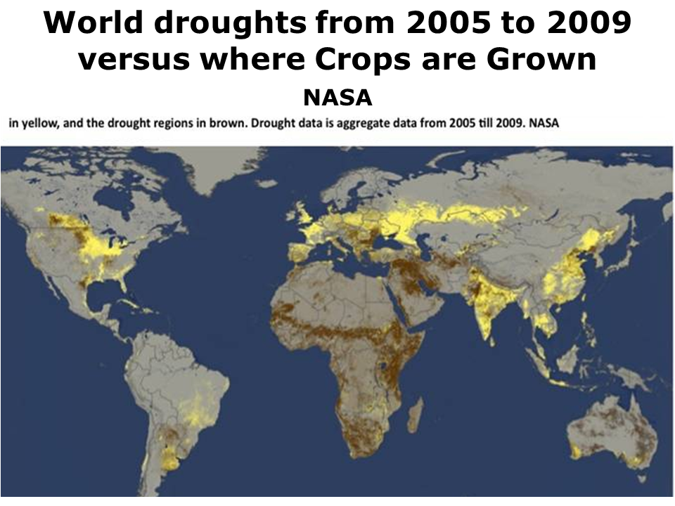 The Extent Of Increasing Drought Extent Over The Past 50 Years According To The Pdsi Is Questioned By New Research Though The Projection Of Drought