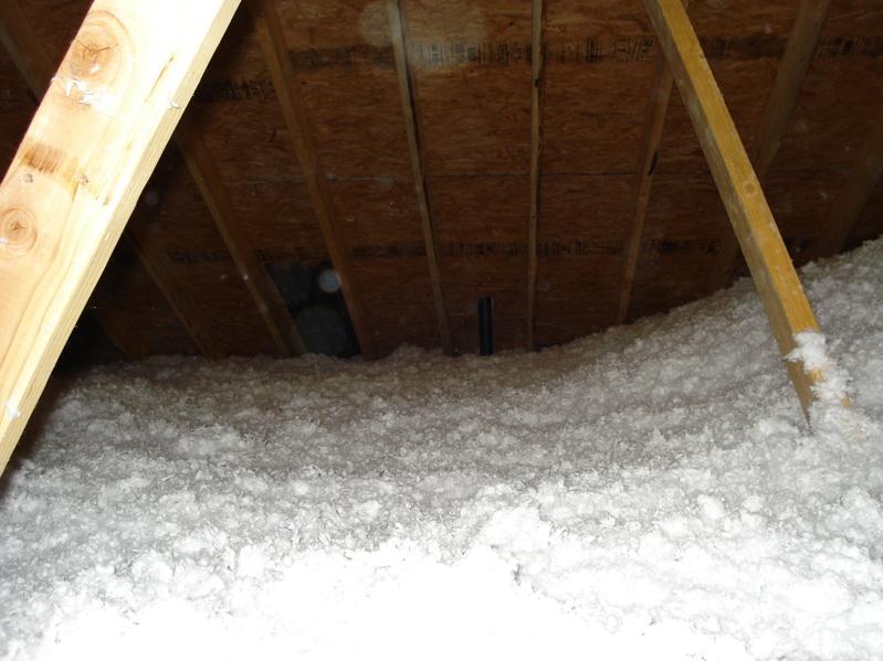 Harrison baker insulation blown fiberglass for Loose fill fiberglass insulation