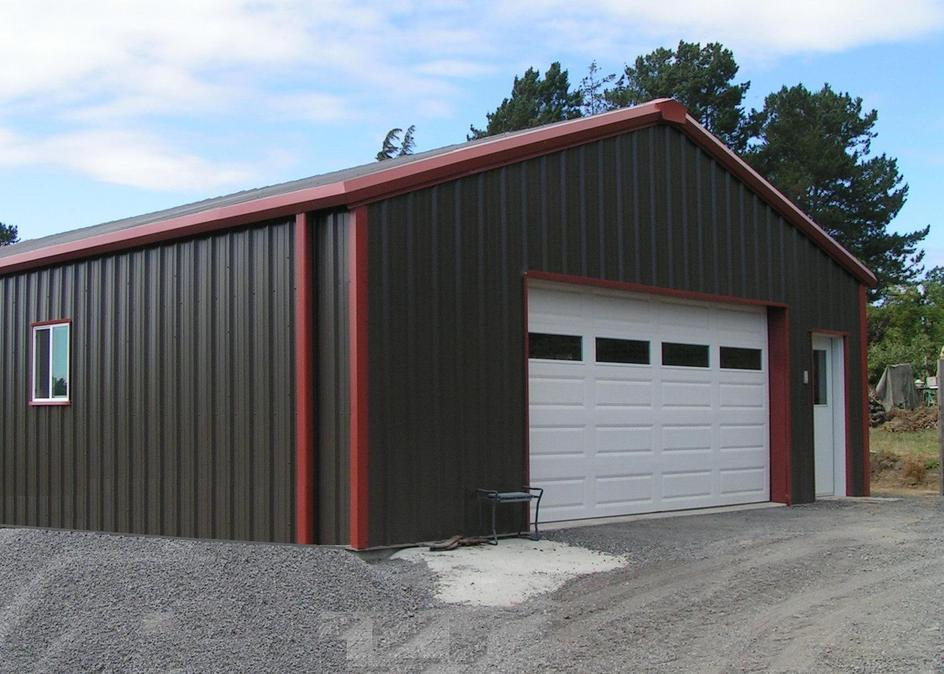 Project photos for Metal building workshop plans
