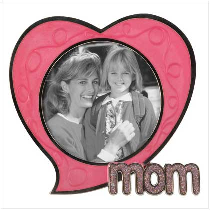 frame a favorite memory and create a lasting reminder that mom is forever in your heart playful pewter frame is sprinkled with sweet sayings and bright - Mom Frames