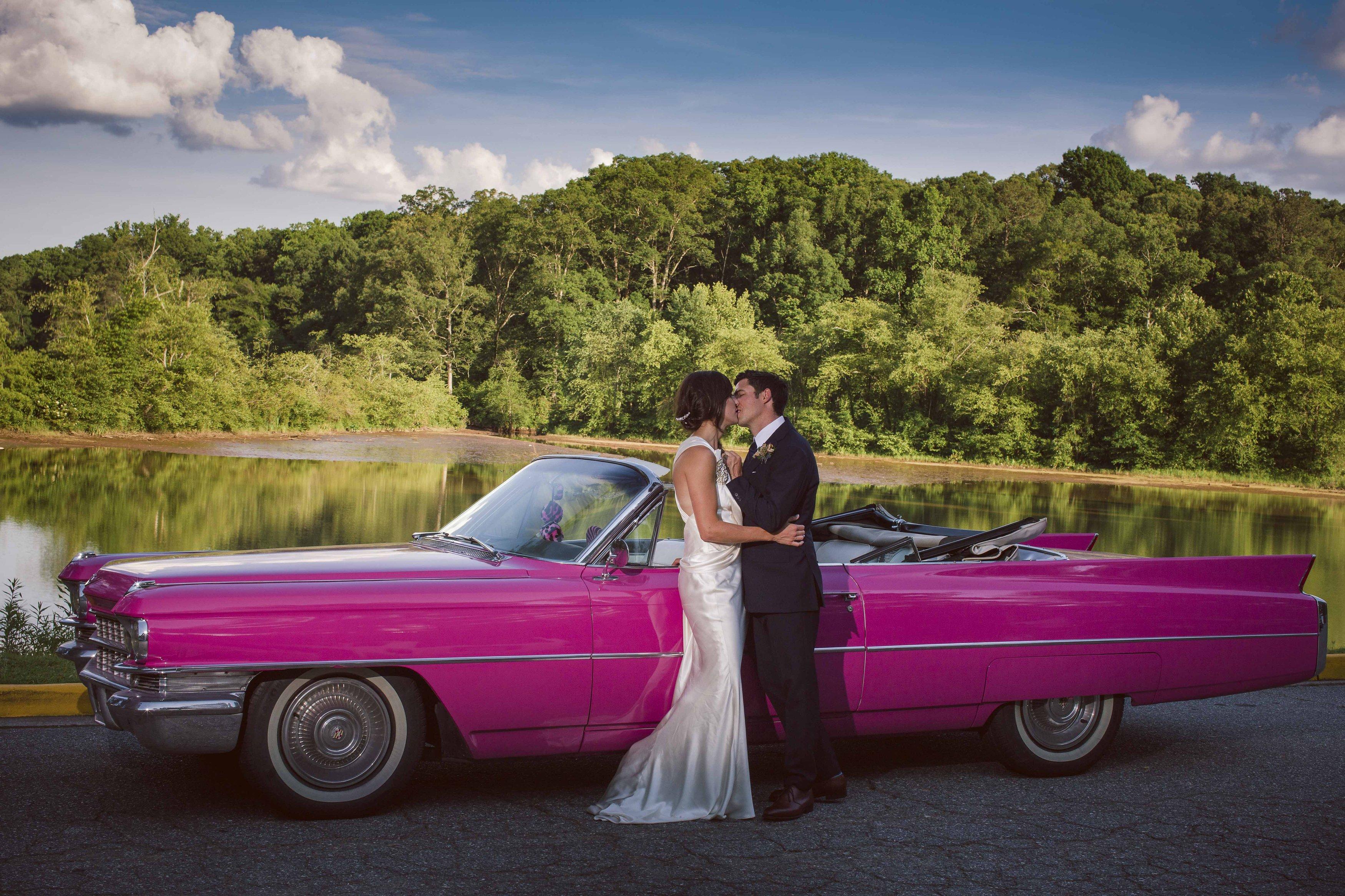 770 826-3575 Pink Cadillac Limousine Cartersville Prom Limos Wedding ...
