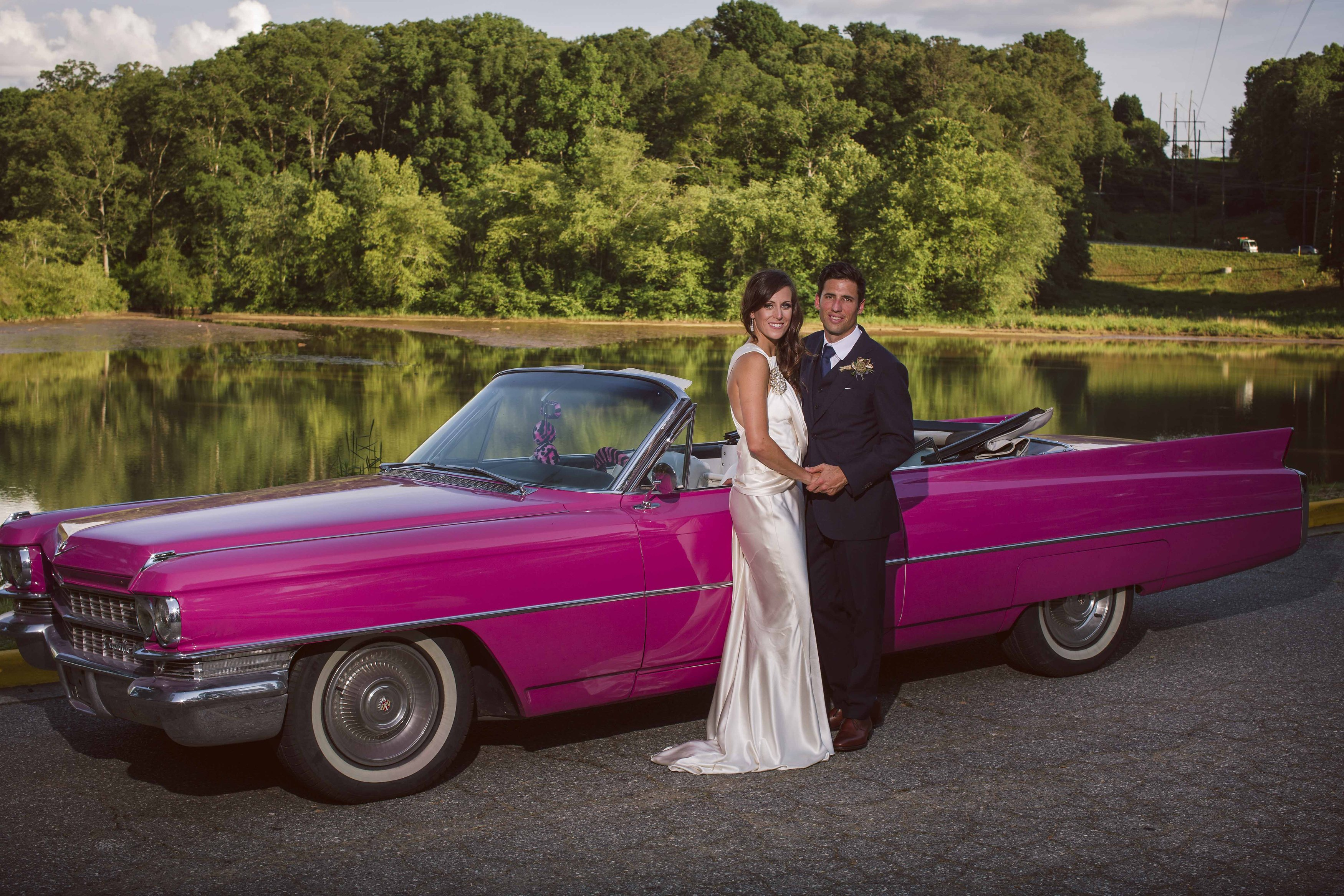770 826-3575 Atlanta Classic Car Wedding Limos Vintage Reception ...