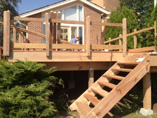 Foxfield Deck Build