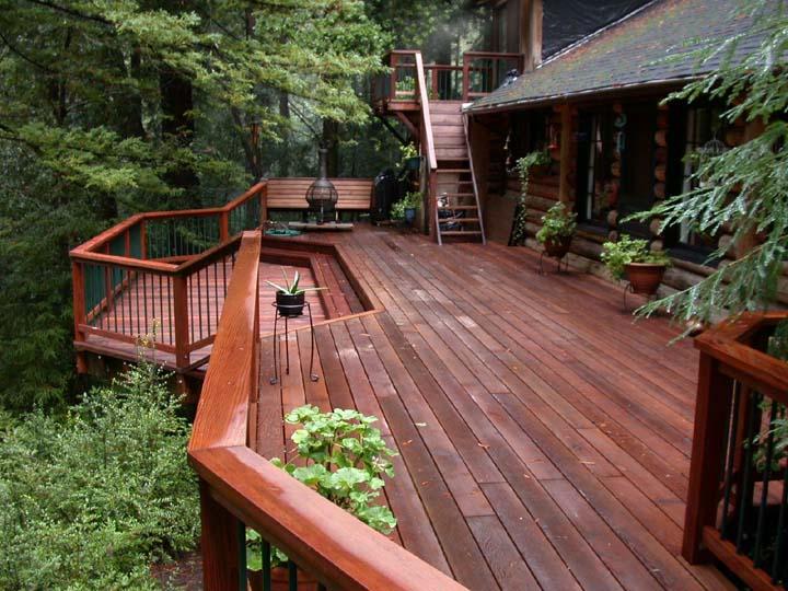 Evergreen Deck Build