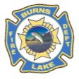 Burns Lake Fire Dept Decal