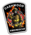 Dashwood Fire Rescue Decal